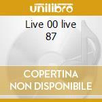 Live 00 live 87 cd musicale di Frizzi comini tonazzi
