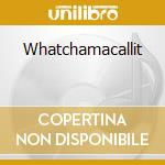 Whatchamacallit cd musicale di Brick layer cake