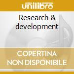 Research & development cd musicale