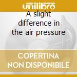 A slight difference in the air pressure cd musicale di Melodium