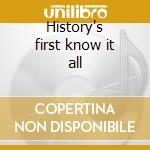 History's first know it all cd musicale di The Caribbean