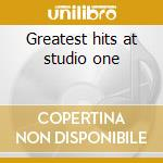 Greatest hits at studio one cd musicale