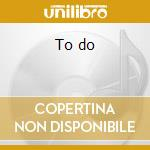 To do cd musicale di Blond