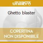 Ghetto blaster cd musicale
