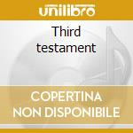 Third testament cd musicale
