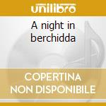 A night in berchidda cd musicale