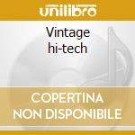 Vintage hi-tech cd musicale