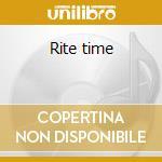 Rite time cd musicale di Cinzia Tedesco