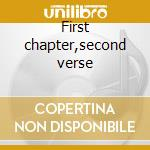 First chapter,second verse cd musicale di Zello