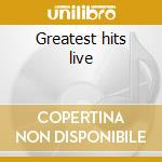 Greatest hits live cd musicale