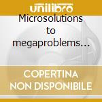 Microsolutions to megaproblems part.1 cd musicale di Artisti Vari