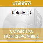 Kokalos 3 cd musicale di Vincenzo Spampinato