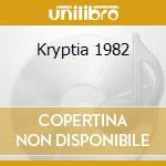 Kryptia 1982 cd musicale di Alexander Robotnick