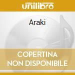 Araki cd musicale di Takashi Wada