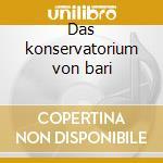 Das konservatorium von bari cd musicale di Carlo Fashion