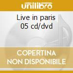 Live in paris 05 cd/dvd cd musicale di Laura Pausini