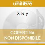 X & y cd musicale di Coldplay