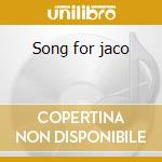 Song for jaco cd musicale di Pordenonebigband