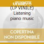 (LP VINILE) Listening piano music lp vinile di Mathieu Allaudin