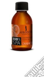 100% SPA Olio per massaggio ARANCIA cosmetico