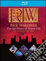(Blu Ray Disk) Rick Wakeman. The Six Wives Of Henry VIII. Live At Hampton Court Palace film in blu ray disk