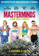 Masterminds - I Geni Della Truffa dvd