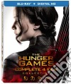 Hunger Games - Complete Collection (4 Blu-Ray) dvd
