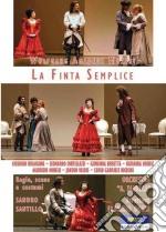 Wolfgang Amadeus Mozart. La finta semplice film in dvd di Sandro Santillo