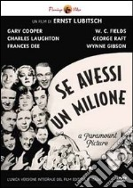 Se Avessi Un Milione film in dvd di Ernst Lubitsch