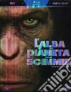 (Blu Ray Disk) L' alba del pianeta delle scimmie (Cofanetto 2 DVD) dvd