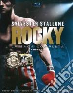 (Blu Ray Disk) Rocky. La saga completa (Cofanetto 6 DVD) film in blu ray disk di John C. Avildsen,Sylvester Stallone