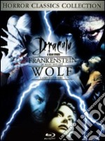 Dracula - Frankenstein di Mary Shelley - Wolf. La belva  fuori (Cofanetto 3 DVD) film in dvd