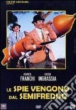 Le spie vengono dal semi freddo film in dvd di Mario Bava