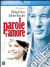 (Blu Ray Disk) Parole d'amore dvd