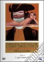 Infanzia, vocazione e prime esperienze di Giacomo Casanova veneziano film in dvd di Luigi Comencini