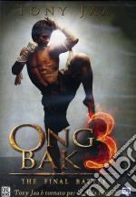 Ong Bak 3 film in dvd di Tony Jaa,Panna Rittikrai