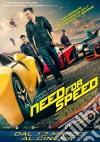 (Blu Ray Disk) Need For Speed (Ltd 3D Steel Book) (Blu-Ray 3D+Blu-Ray)
