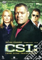 CSI. Crime Scene Investigation. Stagione 10. Vol. 1 film in dvd