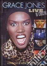 Grace Jones. Live in Concert. London & New York City film in dvd