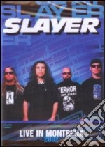 Slayer. Live in Montreux 2002 film in dvd