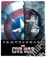 Captain America - Civil War (3D) (Ltd Steelbook) (Blu-Ray 3D+Blu-Ray) dvd