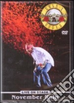 Guns N' Roses. November Rain. Live on Stage film in dvd
