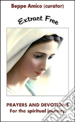 Prayers and devotions for the Spiritual Journey (Extract Free). E-book. Formato PDF ebook