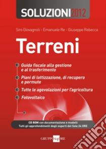 Soluzioni 2012. Terreni. E-book. Formato PDF ebook di Siro Giovagnoli