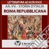 Roma repubblicana. Audiolibro. Download MP3 ebook