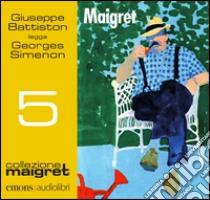 Maigret letto da Giuseppe Battiston. Audiolibro. Download MP3 ebook di Georges Simenon