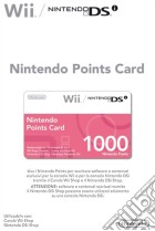 NINTENDO WII DSi Points Card 1000 game acc