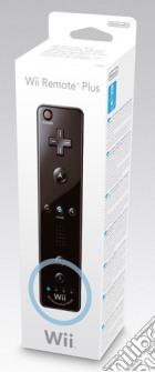 NINTENDO Wii Telecomando Wii Plus Nero game acc