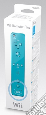NINTENDO Wii Telecomando Wii Plus Blu videogame di WII