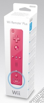 NINTENDO Wii Telecomando Wii Plus Rosa game acc